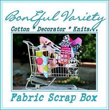 BonEful Fabric SEW VTG QUILT SCRAP Knit Cotton Decor GIRL 4H CRAFT Dot # 3 BOXES