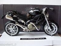 Ducati Monster 1100 (2010) Noir, Newray Moto 1:12