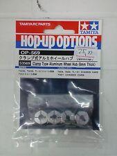 TAMIYA 1/10 - HOP-UP CLAMP TYPE ALUMINUM WHEEL HUB 6mm - ART. 53569