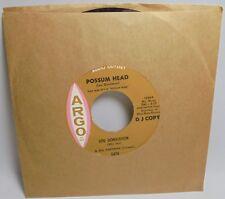 Lou Donaldson Possum Head Laura 7'' Promo Record 12970 Argo