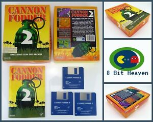 CANNON FODDER 2 BY SENSIBLE SOFTWARE FOR COMMODORE AMIGA - TESTED & WORKING