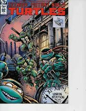 Teenage Mutant Ninja Turtles #92 Planet Comicon Variant signed Kevin Eastman NM