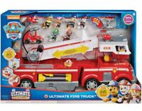 Paw Patrol Ultimate Rescue Fire Truck Playset with 6 Figures