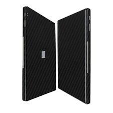 Skinomi Black Carbon Fiber Skin+Screen Protector for Microsoft Surface Book