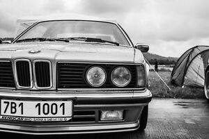 Barre anti-rapprochement  BMW série 5 et 6 E24 E28 *** AVANT ***