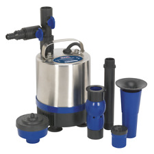 Sealey Submersible Pond Pump Stainless Steel 1750L/hr 230V - WPP1750S