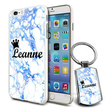 Personalised Hard Case Cover & Free Keyring For Top Mobiles-E63