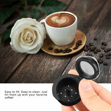 4X Refillable/Reusable Coffee Capsules Pod For Nespresso Stainless Steel Filters
