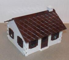 PLASTICVILLE USA Cape Cod House COMPLETE plastic O-S scale Kit Bachmann 1950  br