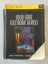 Solid State Electronic Devices Fifth Edition by Streetman & Banerjee Indian PB