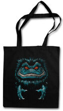 SPACE MONSTER STOFFTASCHE Halloween Symbol Logo Sign Critters