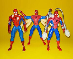 1996 Spider-Man Animated Series - Set of 3 Bootleg KO figures RARE