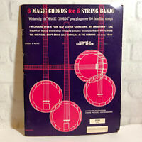 6 Magic Chords for 5 String BANJO by Harry Reser 1966