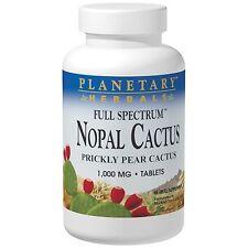 Il NOPAL cactus - 60 - 1000mg Tablet da Planetary Herbals-sano equilibrio di glucosio