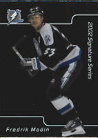 2001-02 BAP Signature Series Hockey Cards Pick From List