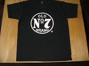 Jack Daniels T Shirt OLD No.7 BRAND Large 100% Cotton T Shirt Size L