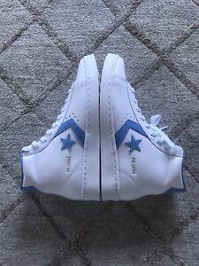 Converse Pro Leather UNC Tarheel Coast Blue Carolina Jordan Size 9.5 DS