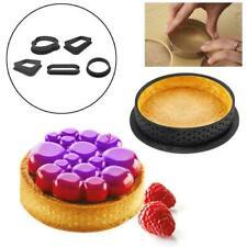 Mini Tart Ring Molds French Dessert Mousse Cake Mold Tools Kitchen Baking V3P2