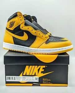 Nike Air Jordan 1 Retro High OG Pollen Men's Size 11.5 Yellow/Black