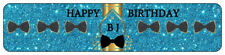 24 Bow Tie Water Bottle Wrappers  Birthday Mustache Baby Shower Choice
