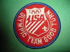 BSA- BOY SCOUTS OF AMERICA- OLYMPIC GOOD TURN TEAM PATCH