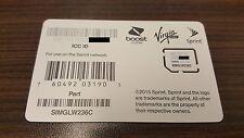 NEW Micro SIM Card - SIMGLW236C / CZ2132LWC
