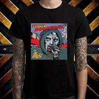 MF DOOM Operation Doomsday Album Cover Men's Black T-Shirt Size S to 3XL
