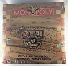 New Monopoly NASCAR 50th Anniversary Limited Collectors Edition