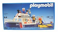 1990 PLAYMOBIL Ref. 3599 Coast Guard Boat Ship FACTORY SEALED excel cond. Spain