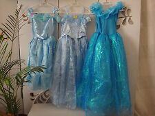 *NEU* Disney Cinderella Kleid Gr. 134 Kostüm Einschulung Kindergeburtstag Frozen