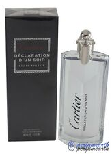 DECLARATION D' UN SOIR 3.3/3.4 OZ EDT SPRAY FOR MEN BY CARTIER & NEW IN A BOX