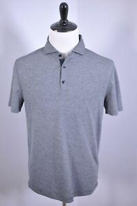 Lululemon Evolution Polo Shirt Gray Black Heather Men's Large L