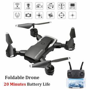 Drone X Pro 2.4G Selfi WIFI FPV With HD Camera Foldable Arm RC Quadcopter RTF AU