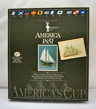 America's Cup AMERICA 1851 Wooden Model Kit by Authentic Models Holland SM32