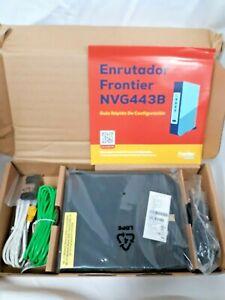ARRIS NVG443B FRONTIER BONDED VDSL2 DUAL BAND WIFI MODEM/ROUTER