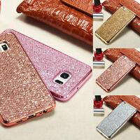Luxury Glitter Bling Diamond TPU Soft Gel Phone Case Cover For Various Phones