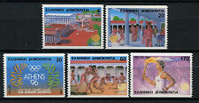 Greece 1988 SG#1784B-88B Olympic Games Imperf x P12.5 MNH Set #A61301