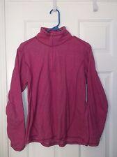 Alpine Design Womens Large Pink Pullover Half Zip Up Coat