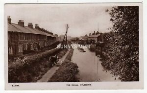 BUCKINGHAMSHIRE, AYLESBURY, THE CANAL, GENERAL VIEW, RP