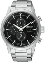 Citizen Men's Eco-Drive Chronograph Calendar Date Window 43mm Watch CA0610-52E