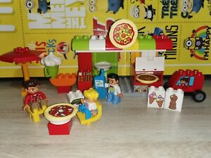 Lego Duplo My Town 10834 Pizzeria Pizza Shop Play