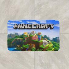 Minecraft Video Game Rug Mat Floor Door Home Entrance Cotton