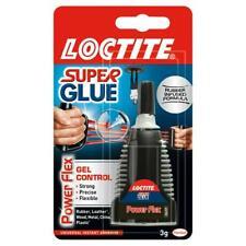 LOCTITE Super Glue Power Flex Gel Control Flexible Adhesive 3g BOTTLE 6,12,24