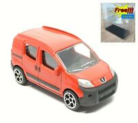 Majorette Peugeot Bipper Red 1/64 205H Wheel 5Y no Package Free Display Box