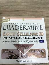 DIADERMINE Expert Cellulaire 3D  Crème de nuit Anti rides
