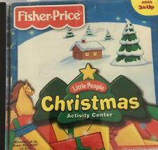 Little People Christmas Activity Center CD Rom Windows 95 98 Mac