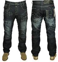 Mens ETO Designer Jeans Stylish Latest Straignt Fit Fashionable Sizes 28 to 42