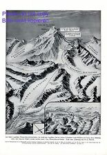 Mount Everest Expedition 1924 XL Druck v. Morrell Leigh Mallory Irvine Absturz +