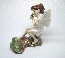 Hagen Renaker Specialties made in America Flute Player Fairy w frog retired