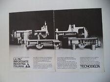 advertising Pubblicità 1981 TECNODELTA - TIGLIOLE ASTI